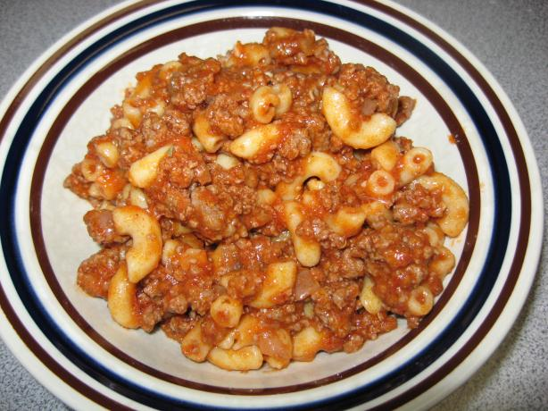 Easy Homemade Beefy Macaroni