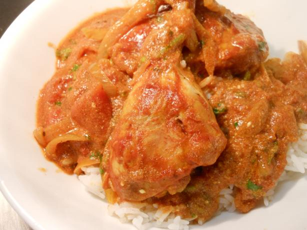 Easy Indian-Spiced Braised Chicken