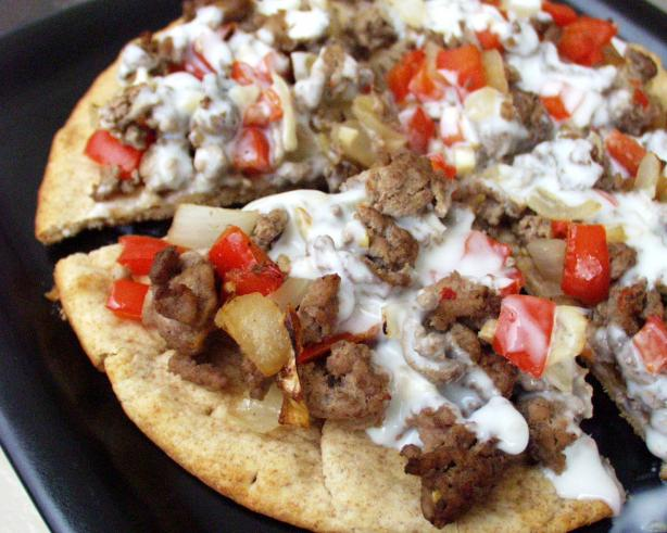 Spicy Beef Pitzas