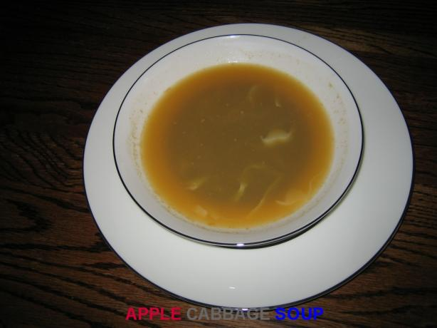 Apple Cabbage Soup