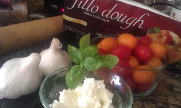 Tomato Phyllo Pie