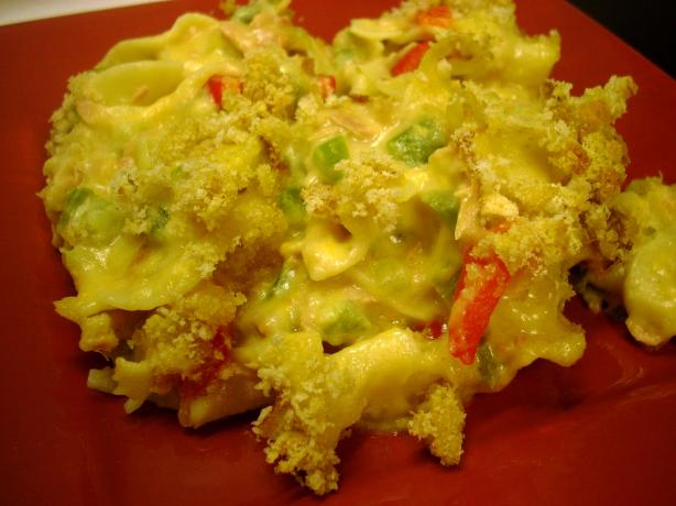 From Scratch Tuna Noodle Casserole