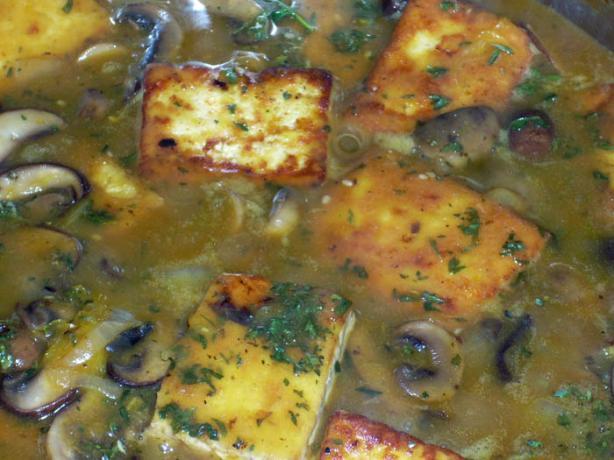 Orange Tofu Marsala