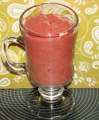 Raspberry Fudge Smoothie