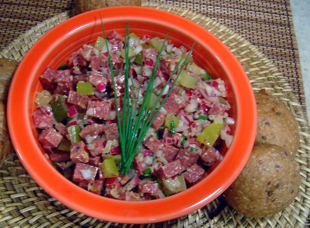 Bavarian Wurst Salad