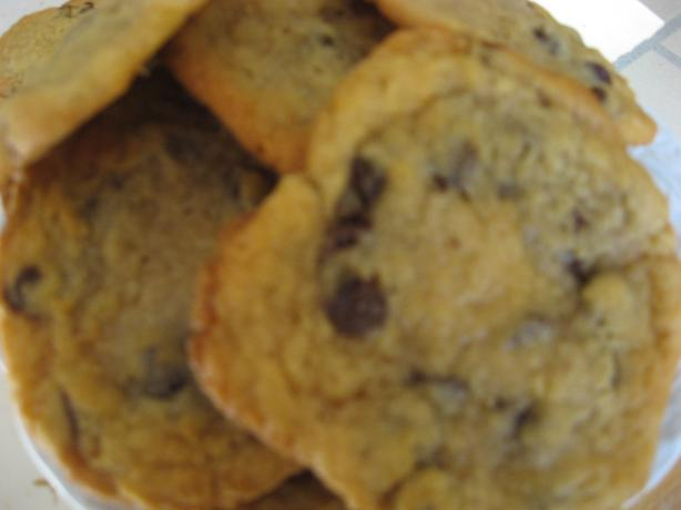 Chocolate Chip Cookies Adapted from Jacques Torres