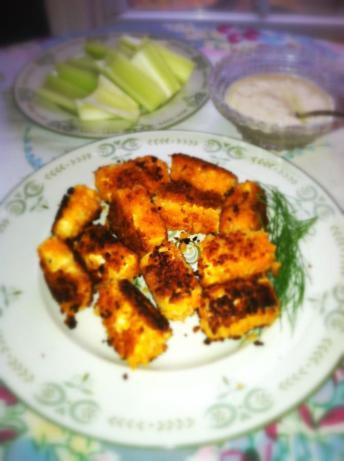 """Tofu Hot """"wings"""""""