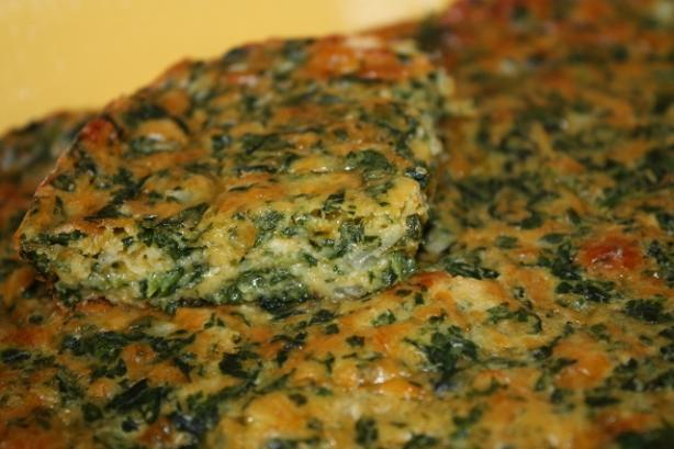 Danielle's Spinach Squares