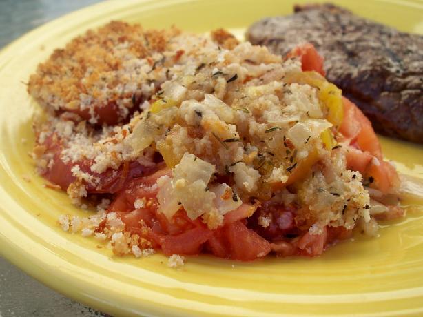 Heirloom Tomato Gratin