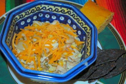 White Heat Chicken Chili