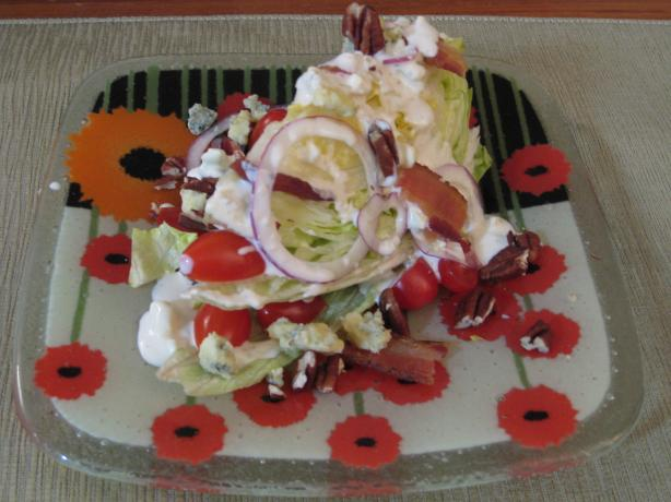 Lettuce Wedge Salad - Like Outback
