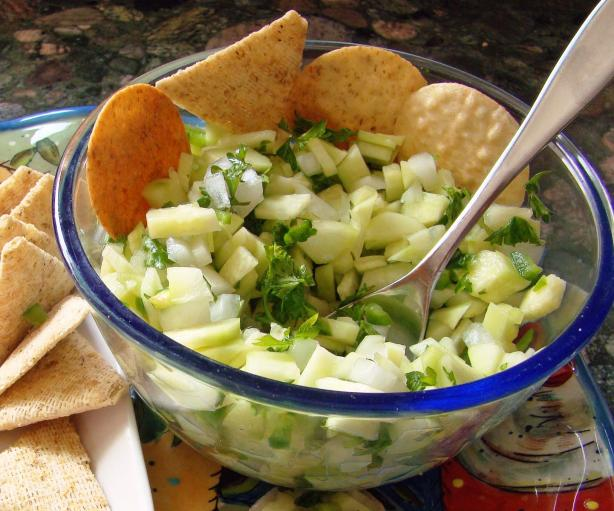 Cucumber Chili Salsa