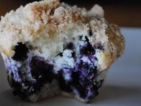 Neila's Best Blueberry Muffins