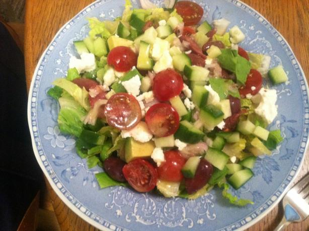 Luscious Greek Salad