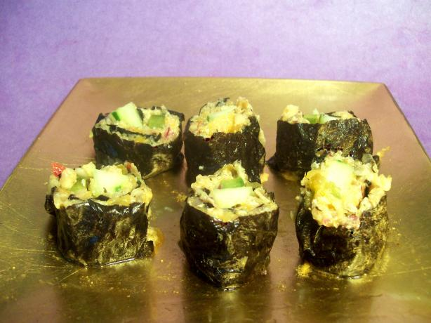 "Zippy ""tuna"" Rolls (Raw Foods)"