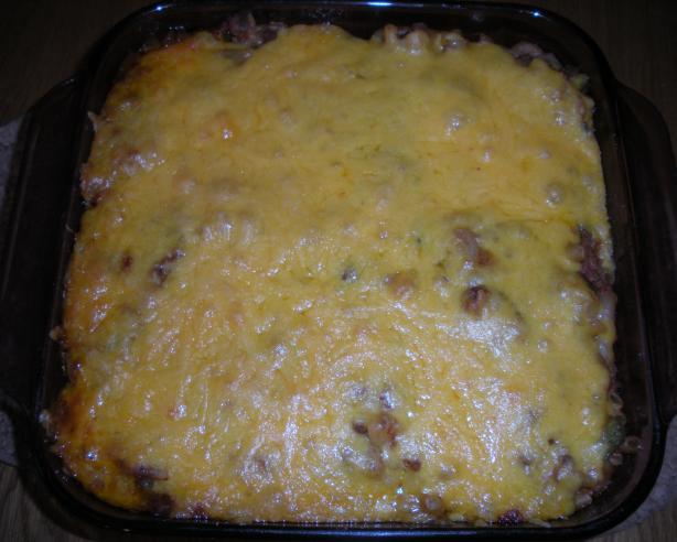 Wayne's Beef Macaroni and Cheese