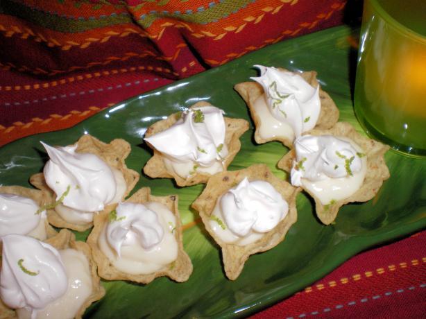 Bite-Sized Margarita Cheesecake Tarts