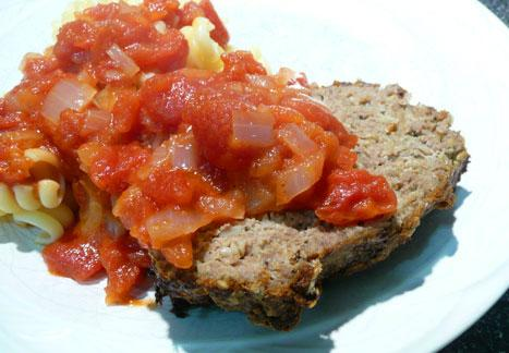 Hoosier Meatloaf With Jack Daniels Sauce