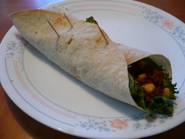 Crispy Toasted Burrito