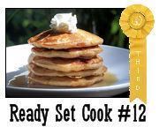 Fluffy Banana Graham Pancakes