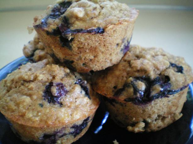 Split Decision (Oatnanaberry) Muffins.
