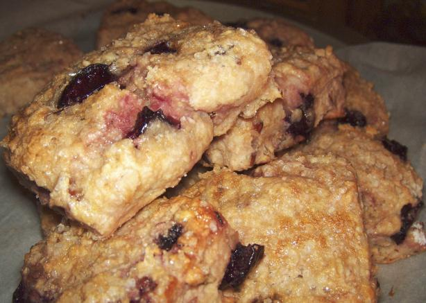 Cherry Nut Scones