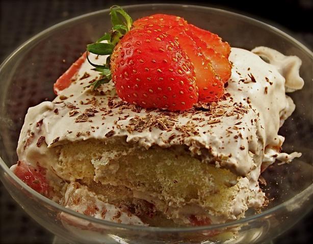Strawberry Chocolate Tiramisu