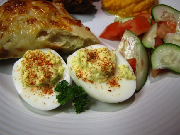 Elegant De-Viled Eggs