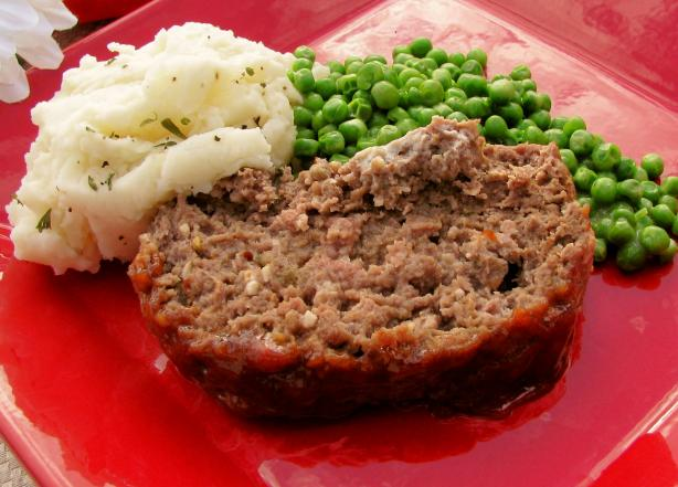 Susan's Sweet and Tangy Meatloaf