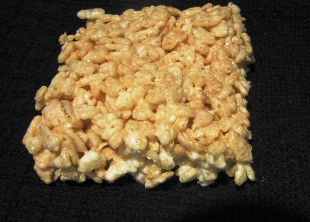 C T's Microwave Krispy Treats