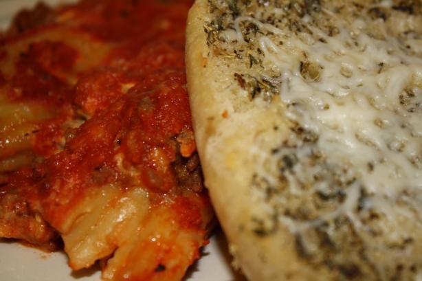 Meaty Manicotti
