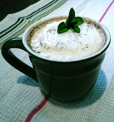 Mocha Mint Latte