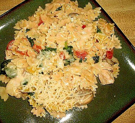 Chicken Florentine Skillet
