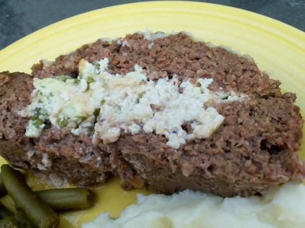 Ricotta-Stuffed Meatloaf