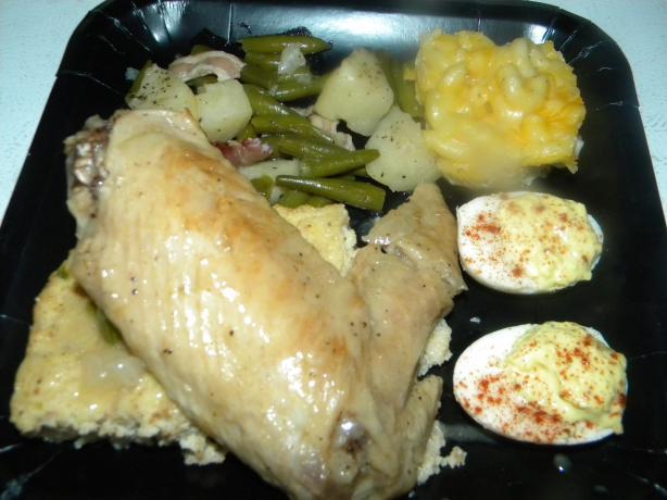 Turkey Wings With Gravy