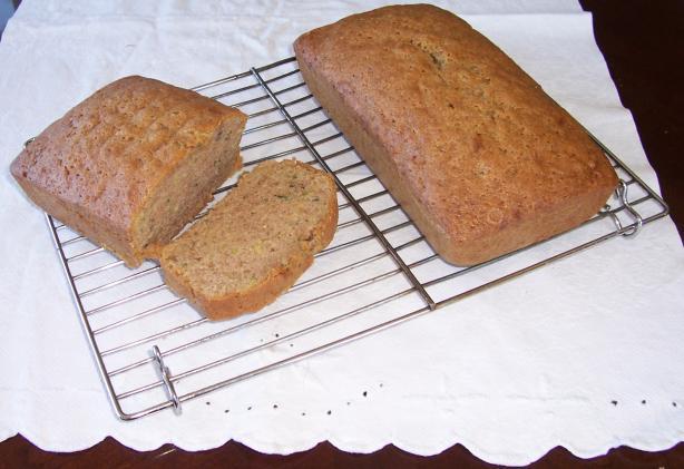 Claudia's Zucchini Bread