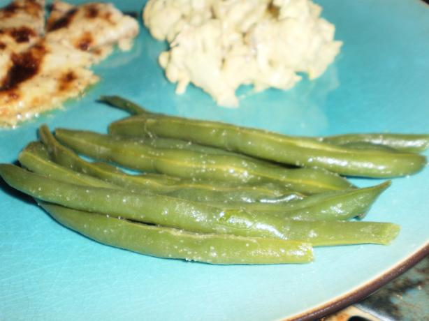 Mean, Lean Green Beans