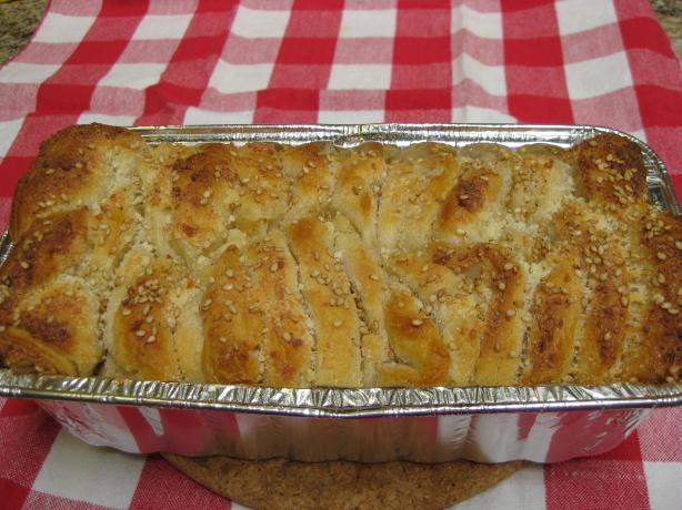 Quick Parmesan Loaf