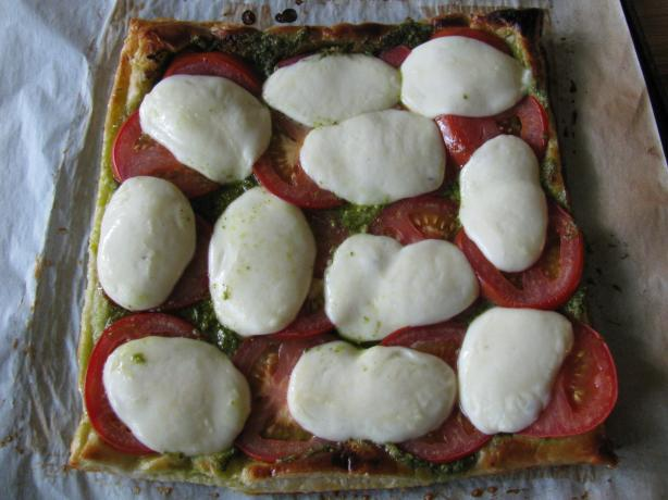 The Neely's Caprese Tart