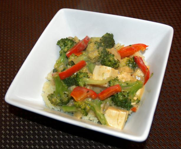 Spicy Coconut Tofu