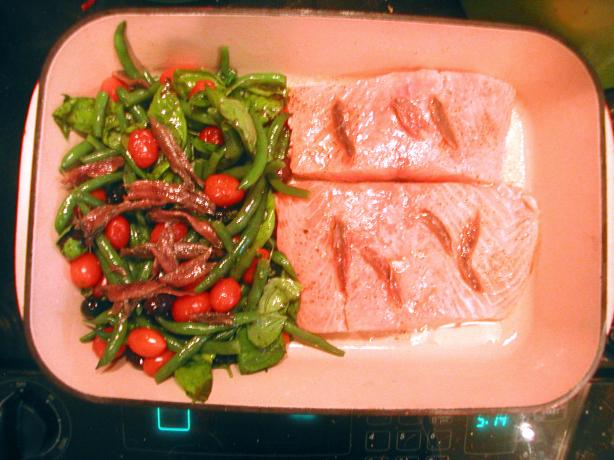 Tray Baked Salmon - Jamie Oliver