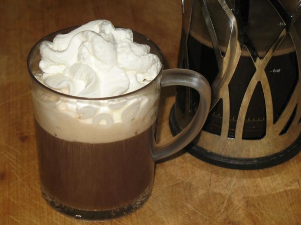 Chocolate-Vanilla Coffee