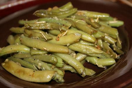 Rosemary and Garlic Green Beans(2 Ww Points)