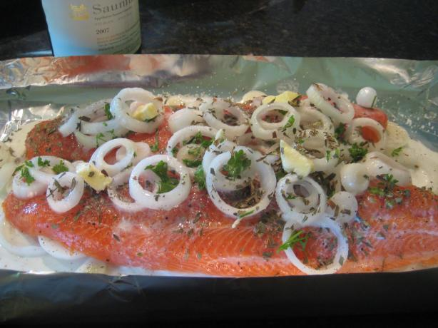 Rainbow Trout With Wine & Tarragon