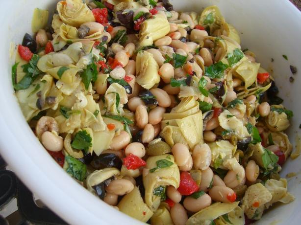 Antipasto-Style White Bean Salad