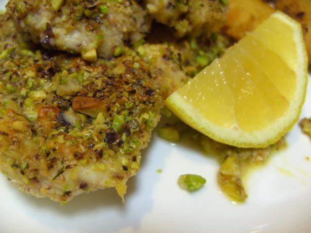 Ralf's Pretty Good Pistachio Baked Fish