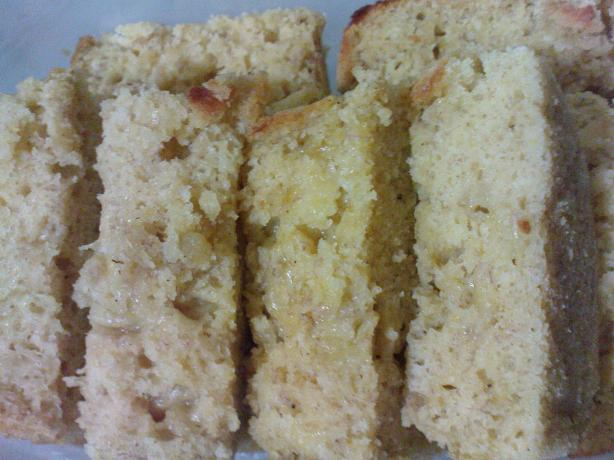 Butterless Banana Cake