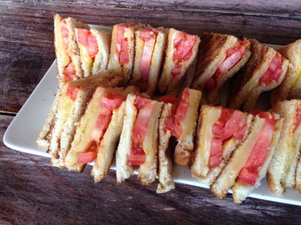 Kittencal's Grilled Cheese and Tomato Sandwich