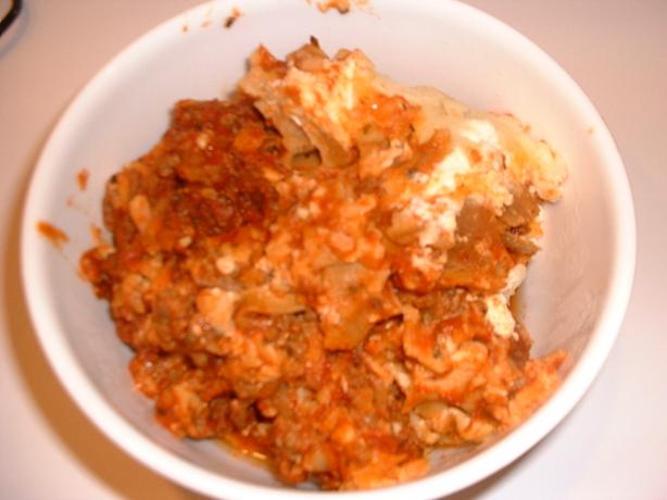 Cheryl's Whole Wheat Crock Pot Lasagna
