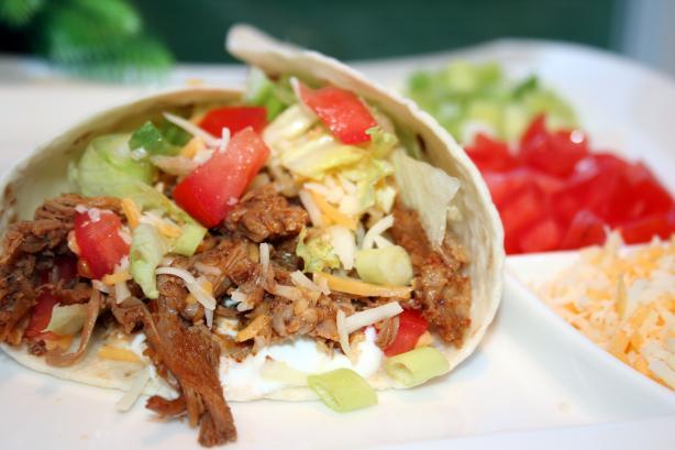 Crock Pot Burrito Meat